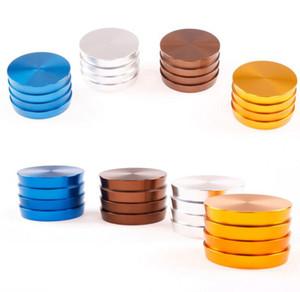 Trapézio Grinders alumínio Grinder 63 milímetros 4 Piece Tobacco Grinder 4 cores disponíveis com tampa superior magnética de alta qualidade Herb Grinder