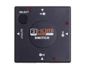 Freier Verschiffen Mini 3 Hafen HDMI Schalter-Teiler 3 gab 1 Ausgangskasten HDMI Vorwähler für PS3 PS4 intelligentes HDTV 1080P ein