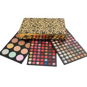 Sechs Plus maquillaje Verfassungs-Sets 183 Farbenfrauen-Mädchen stellen grundlegende Grundaugenaugen-Schattenlippen gegenüber, erröten Sie Concealer