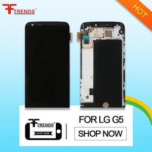 per LG G5 Display LCD Touch Screen Digitizer con telaio anteriore Housing Assembly Originale H830 H820 VS987 LS992 Dropshipping di alta qualità