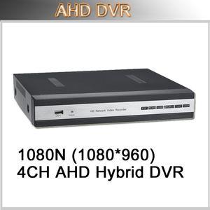 4CH H.264 DVR كاملة HD 1080N الهجين AHD DVR نظام الأمن الرئيسية المستقلة دعم AHD كاميرا النظير كاميرا IP الكاميرا