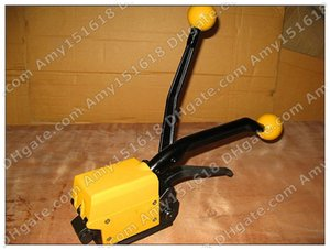 A333 Manual sealless steel strapping tool packing machine For 1 2-3 4 Steel Strip