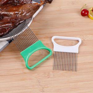 Utensílios de cozinha em aço inoxidável Cebolas Cebola agulha carne solta carne Tender pepino slicer