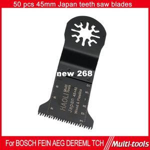 50 pcs 45mm Precision Japan teeth Oscillating multifunction power tool Saw Blade for AEG, Fein, Dremel ,TCH etc, FREE SHIPPING
