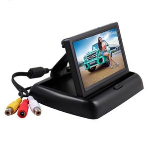 4.3 인치 HD Foldable 자동차 후면보기 모니터 트럭 LCD 백라이트 카메라 후면 컬러 LCD TFT 디스플레이