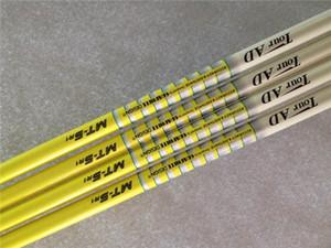 5PCS Tour AD MT-5 0.335 0.350 Tip Size Graphite Shaft R SR S Flex Golf Graphite Shaft for Golf Woods