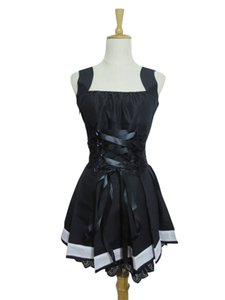 데스 노트 Cosplay Amane Misa Cosplay Black Womens 데스 노트 Cosplay Costume