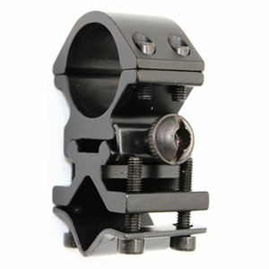 KC Fire Metal Rail Clip 25mm Ring 20mm Rail Mount Mount Tactical Linterna Laser Torch Bracket para 501B C8 Hunting Flash Light