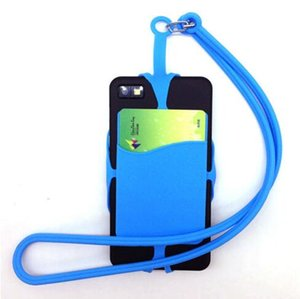 Universal Lanyard Neck Strap Cell Phone Case with ID Credit Card Holder Phone Case Cover Sling Card Slot for Smartphones Christmas Gifts