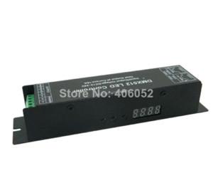 4 canais DIODO EMISSOR de luz RGBW Controlador DMX 512 LED Decoder Driver 12 V Controladores DMX Controladores RGB Barato Controladores RGB