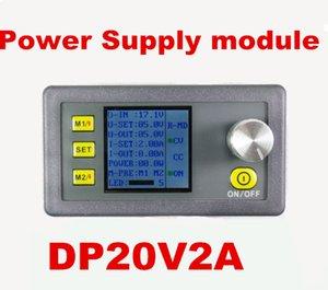 5 unids / lote pantalla LCD digital DP20V2A voltaje constante y convertidor de voltímetro programable reductor de corriente actual