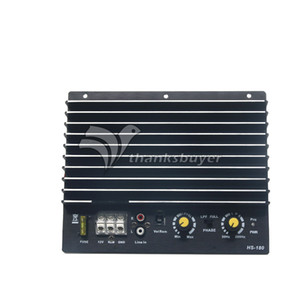 Freeshipping ZL980 Car Audio Amplifier Board 1000W Basso consumo Amp AM Subwoofer