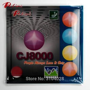 بالجملة، باليو الرسمي المدى الطويل CJ8000 36-38 تنس الطاولة المطاط BIOTECH technilogy هجوم سريع مع حلقة الجدول لزجة مضرب التنس