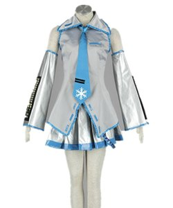 Malidaike 애니메이션 보컬 로이드 하츠네 미쿠 할로윈 코스프레 의상 단 Teto Sweet Lolita Dress 짧은 기모노 Fancy Uniform Dress 5pcs / Set