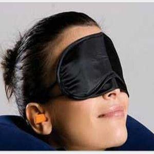 Maschere per il sonno degli occhi Maschere per gli occhi dormienti in poliestere Occhielli per coprire gli occhi Occhielli Ombretto Coprofumi Occhielli Benda per la cura degli occhi