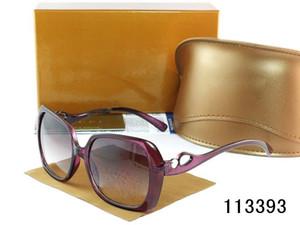 Lunettes de soleil mode pour femme Designer Square Solstice SunGlass beaucoup de couleurs + boîte