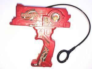 Rosso Blu Nero Lanciatori Doppio Top Launcher per Bayblades Top Novità Novità Bayblades Launcher per Spin Top Toy