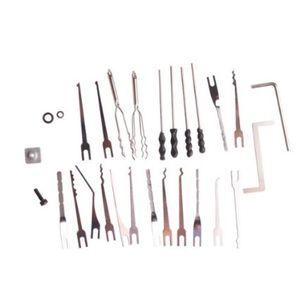 Выбор pin с 2 натяжения набор инструментов для KLOM электрический отмычку пистолет профессиональный слесарь инструмент