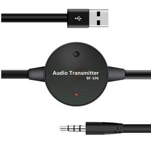 BF106 بلوتوث وزير الخارجية الارسال اللاسلكي صوت ستيريو 3.5mm للتلفزيون الكمبيوتر التكيف مع أي سماعات بلوتوث سماعات بلوتوث