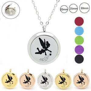 With chain as gift! 316L Stainless Steel essential Oil Diffuser Perfume locket Pendant 30mm Aromatherapy locket pendant
