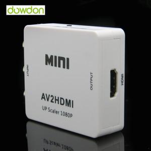 3 chips tipo 1080 p full HD RCA para HDMI AV2HDMI AV para HDMI conversor de sinal para dispositivos multimídia