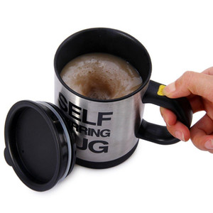 Mug Self Stirring Coffee Double Insulated Self Mug agitazione 500ml Tazza da caffè elettrica automatica Perfect Gift Mug Coffee Mugs