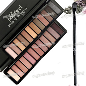 2017 Newest High quality palette eyeshadow Popfeel makeup palettes NUDE Smoky Palette 12 Color eyeshadow palette DHL Free shipping