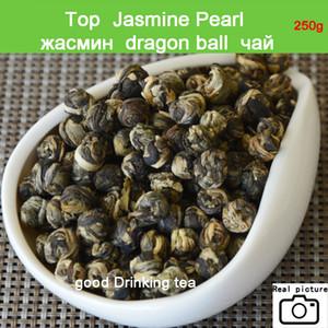 ¡¡Promoción!! El té verde 250g Superior té de jazmín flor prima Jasmine Dragon Pearl té verde Health Food