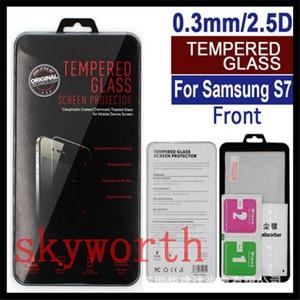 Iphone 7 için 8 X XR XS Max Samsung Galaxy S8 S9 Not 8 9 Premium Temperli Cam Ekran Koruyucu Patlamaya dayanıklı Güvenlik