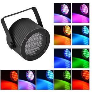 Portable 86 RGB LED Stage Lights Par Party Show DMX-512 Lighting effect Disco Spotlight Projector for Wedding Party Bar Club DJ