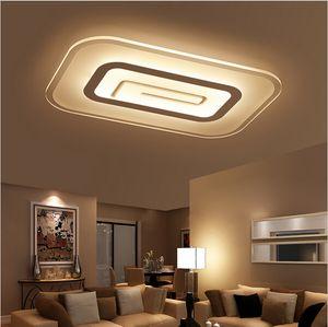 2016 new arrivals Modern breve quadrado Acrílico levou luz de teto quarto lâmpada do teto retângulo sala de estar luminárias de teto 40 W 45 W 65 W