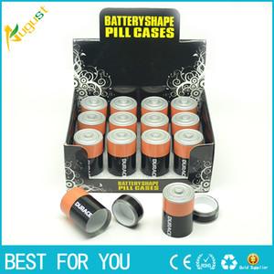 Livraison Gratuite Grande Taille Batterie Secrets Secrets Diversion Coffre-fort Pill Box Caché De L'argent Pièces Conteneur Cas Stockage À La Maison
