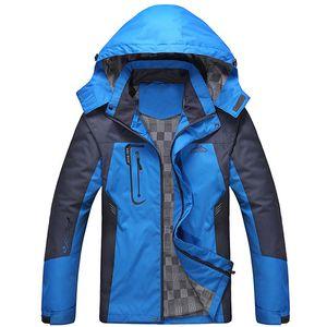 Wholesale-2016 Winter Outdoor Brand Softshell Jacket Men Hiking Jacket Waterproof Windproof Thermal Jacket Outdoors Hiking Camping Ski