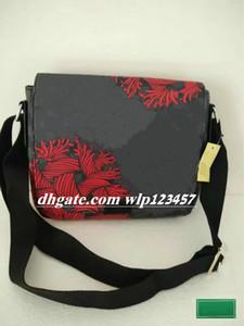 n41714hotDISTRICT PM High-End-Qualität neue Ankunft berühmten Marke Classic Designer Mode Männer Messenger Bags Umhängetasche Schul Schultertasche