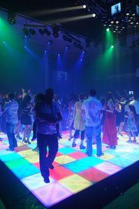 RGB LED Dance Floor 1MX1M LED Hohe Helligkeit DJ Disco Party Hochzeit DMX Bühnenlicht