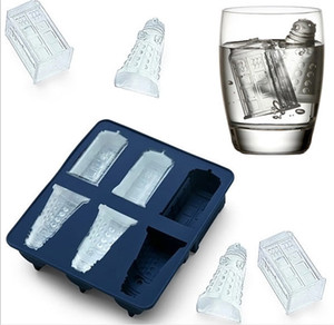 Silicone Ice Cube Tray Dr Who ice cube mold ice bucket drinkware Cocktails Silicone mold Cube Tray kitchen tool