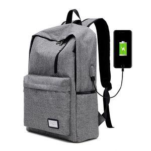 Zaino per notebook in nylon per uomo Zaino per notebook in nylon per uomo Zaino per notebook per notebook con borsa USB