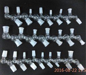 45 градусов угол стеклянный глобус адаптер женский мужской 10 мм 14 мм мужчин и женщин 14.4 мм 10.0 мм мини-стекло падение вниз