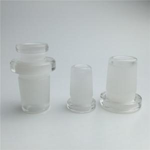 Mini Glas Adapter 10mm weiblich auf 14mm männlich 14mm weiblich auf 18mm männlich zwei Stil Forsted Mund Glas auf Glas Adapter