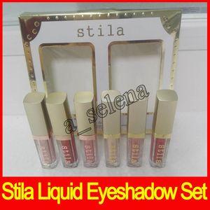Stila Eye for Elegance Liquid Eyeshadow Shimmer Glow e glitter bagliore liquido insieme ombretto