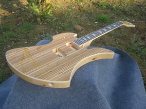 NUEVO arrivied. color natural, sin partes, cuerpo de chapa de cebra .puede personalizarse, instrumentos musicales de alta calidad para guitarra eléctrica