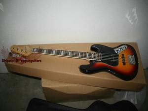 New Arrival Sunburst Music Electric Bass Guitar 5 Strings Bass Guitar High Quality HOT Bass