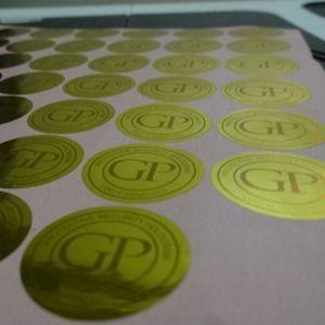 10000 pezzi / set! Autoadesivi dell'etichetta dell'ologramma su ordinazione che stampano, autoadesivo fragile dell'etichetta del laser impermeabile, disegno libero!