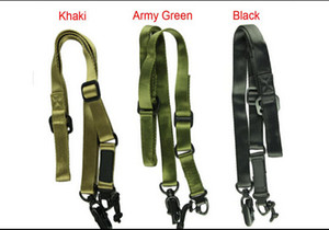 MP MS2 Multiuso Tactical Nylon Gun Sling Tactical Elastico Singolo Point Fucile Gun Sling Per Attività All'aria Aperta BK DE OD spedizione gratuita