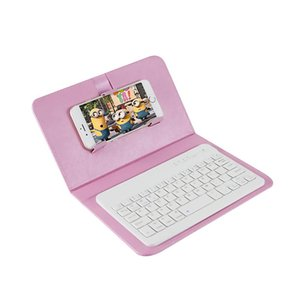 New Bluetooth keyboard holster Android Windows three system,Universal mobile phone Bluetooth keyboard holster