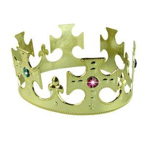 All'ingrosso-Hot marcatura COS Princess royal king Crown copricapo 2 colori Masquerade mostra puntelli M07