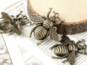 Hot Items !!! 100pcs / lot Alliage Bee Charms Pendentif Fit Bijoux DIY40x38mm