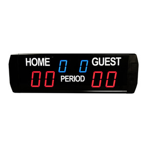 [GANXIN] LED Ultra Morden Elektronik Ekran Spor Skorbord Kapalı İşlevli Basketbol / Futbol Yayan Dijital Scoreboard ile