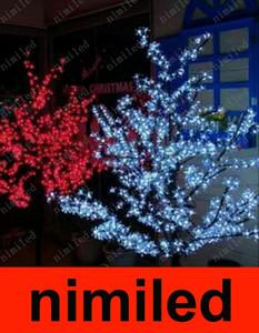 nimi661 LED Cherry Blossom Tree Light 960pcs bombillas LED 2m 200cm Altura 110 / 220VAC 8 colores Rainproof Patio Patio jardín lámpara