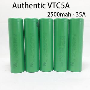 Garantia autêntica - 100% Original Sony VTC5A 2600 mah 35A 18650 Bateria Recarregável - VTC6 VTC5 Baterias de Alta Dreno para Ecig 18650 Mods